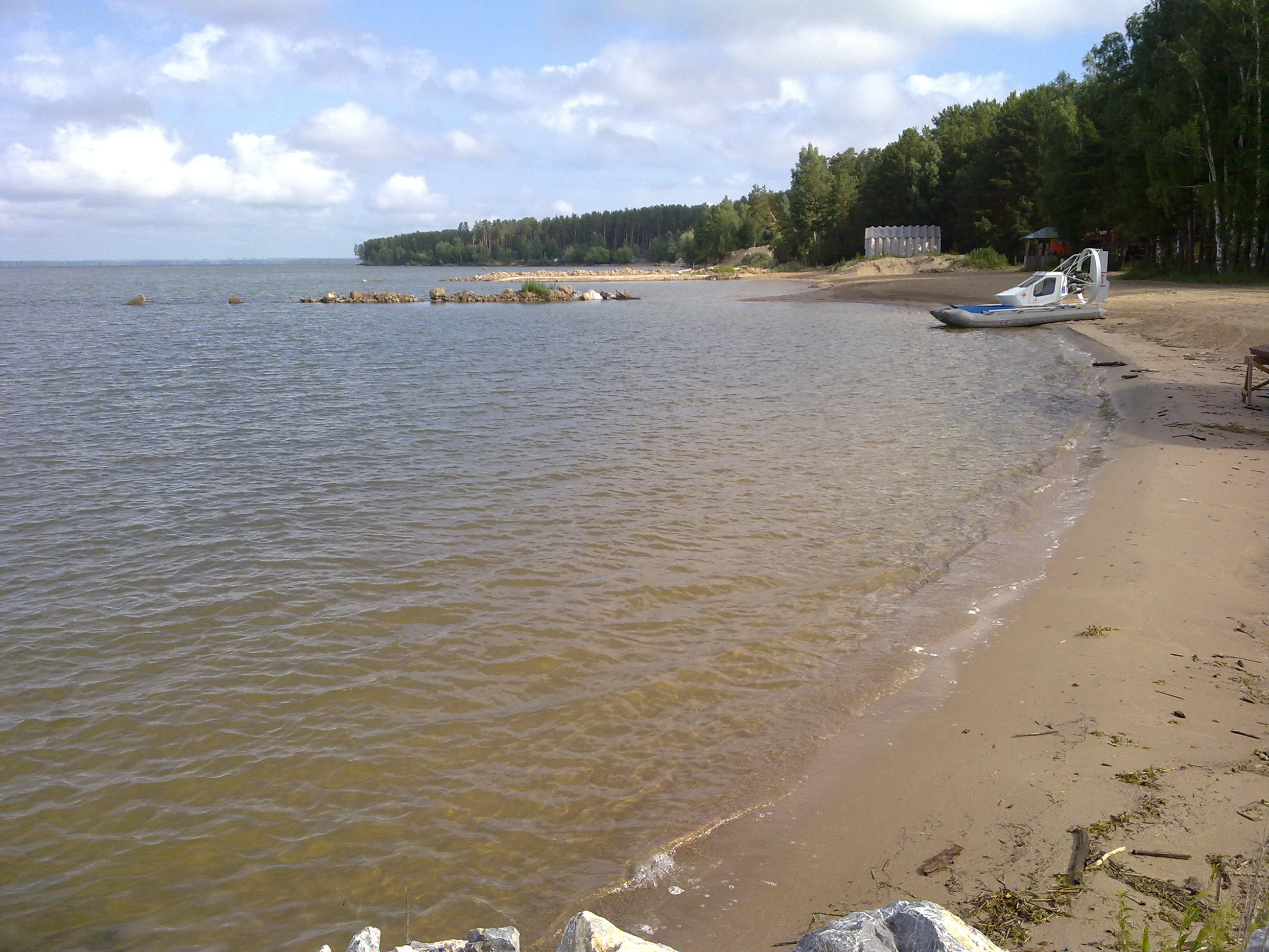 Обское море пляж фото